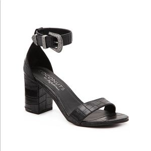 NEW coconuts by matisse callin croc buckle sandals